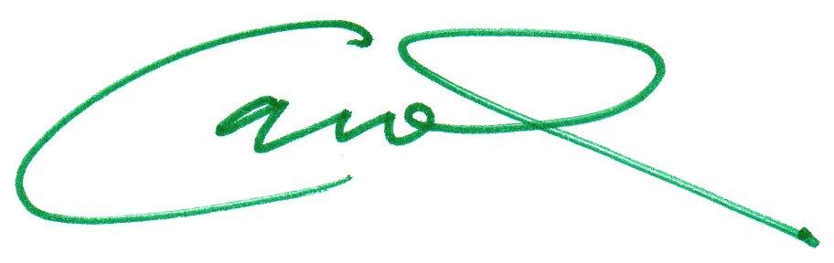 Pastor Carol Signature